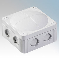 Wiska Waterproof Junction Box 85 x 85 x 51mm