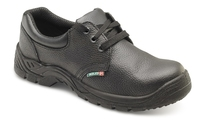 Rouen Black S1P Mid Sole Full Safety Shoe