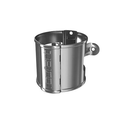 RoofArt Steel Downpipe Holder Galv 87mm