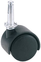 Draper Castor Swivel Plug 40mm