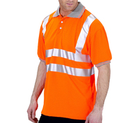 Hi-Visibility Polo Shirt Orange (GO/RT)