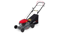 Powerplus 98.5cc 410mm Petrol Lawnmower S/Prop Steel Deck Mulch