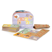 Farm animals Dominoes Game in carry-case