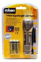 Rolsey 1 Watt Super Bright LED Torch