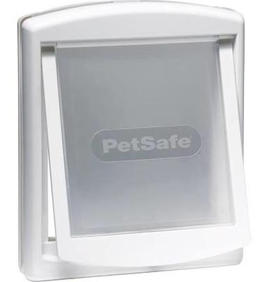 Staywell No.740 Medium Dog Door + Lock Panel - White x 1