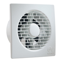 """Vortice 4"""" Filo Bathroom Fan"""