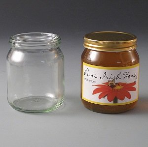 344ml Squat honey Jar