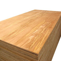 HARDWOOD PLYWOOD FACED 8' X 4' X 18MM