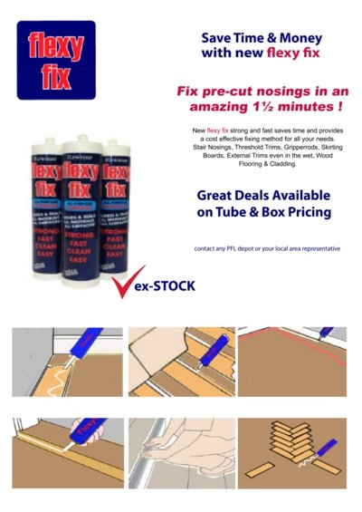 flexifix tube and box pricing offers