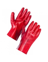"14"" Red PVC  Gauntlet (WT1016)"