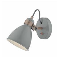 Fredrick Wall Light, Grey and Copper | LV1802.0027