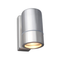 Robus Tralee GU10 Up & Down Wall Light Brushed Chrome