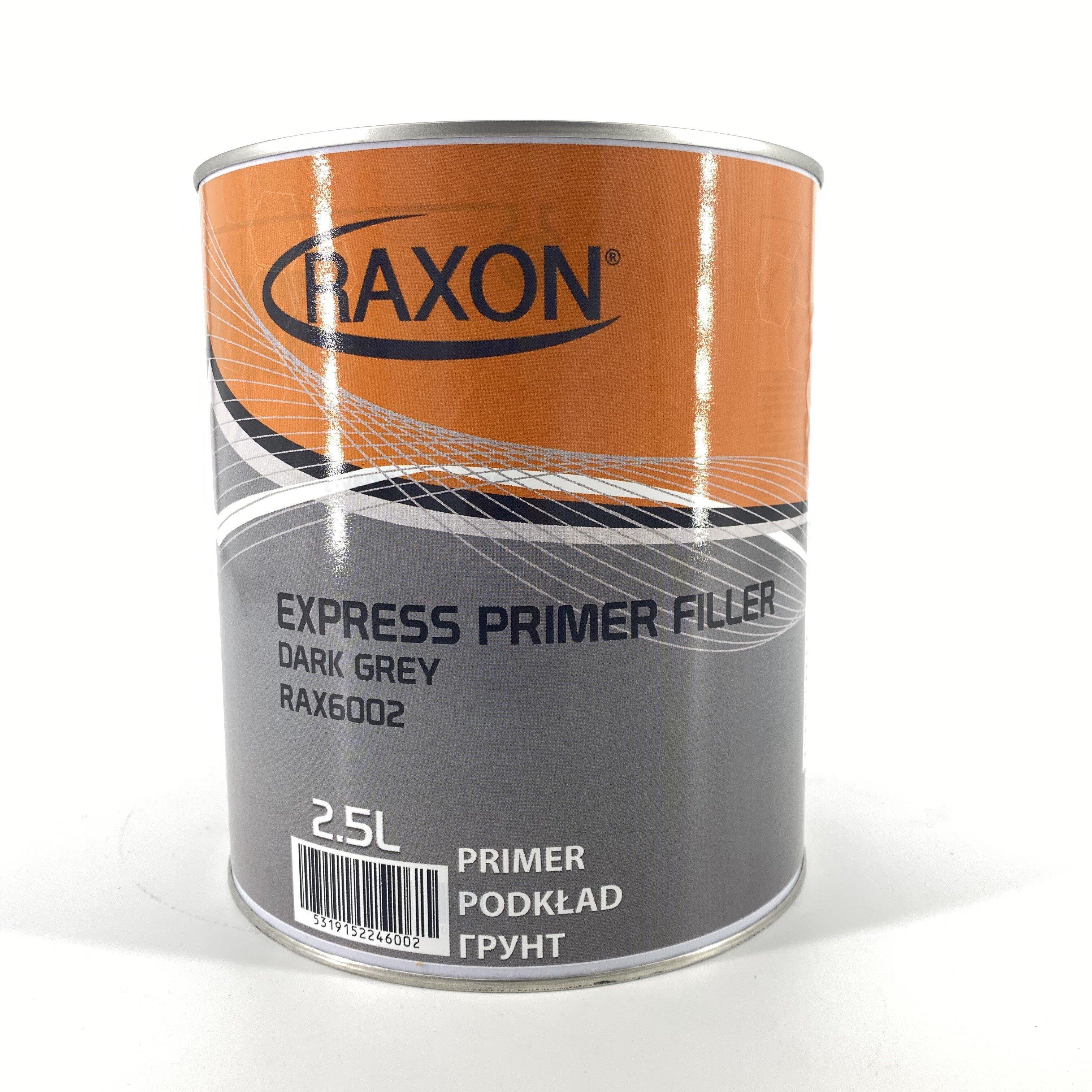 EXRESS PRIMER FILLER DK GREY2.5LT