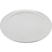 Pizza Tray Wide Rim Aluminium 25.5cm Dia