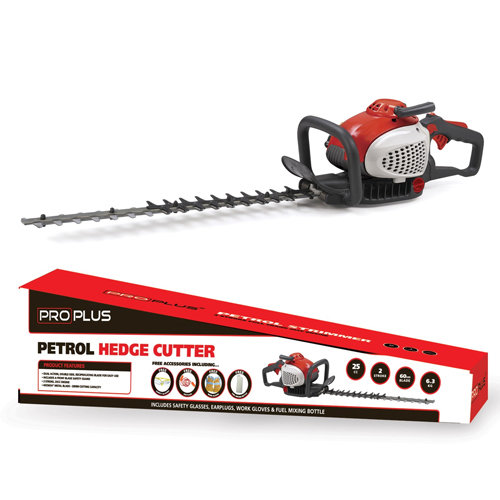 ProPlus Petrol Hedge Cutter 24in Dual Action Blade 25cc