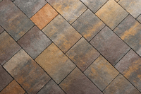 MANORSTONE MIXED 4-SIZE PACK PAVING 50MM GLENARM (15.36 sq.mtr per pack) ** MUST BE SOLD BY PACK ** ** STOCKED **