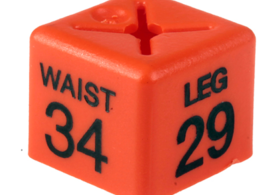 Menswear Size Cubes