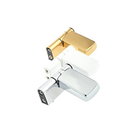 PATRIOT PLUS DOOR HINGE 22MM SATIN SILVER