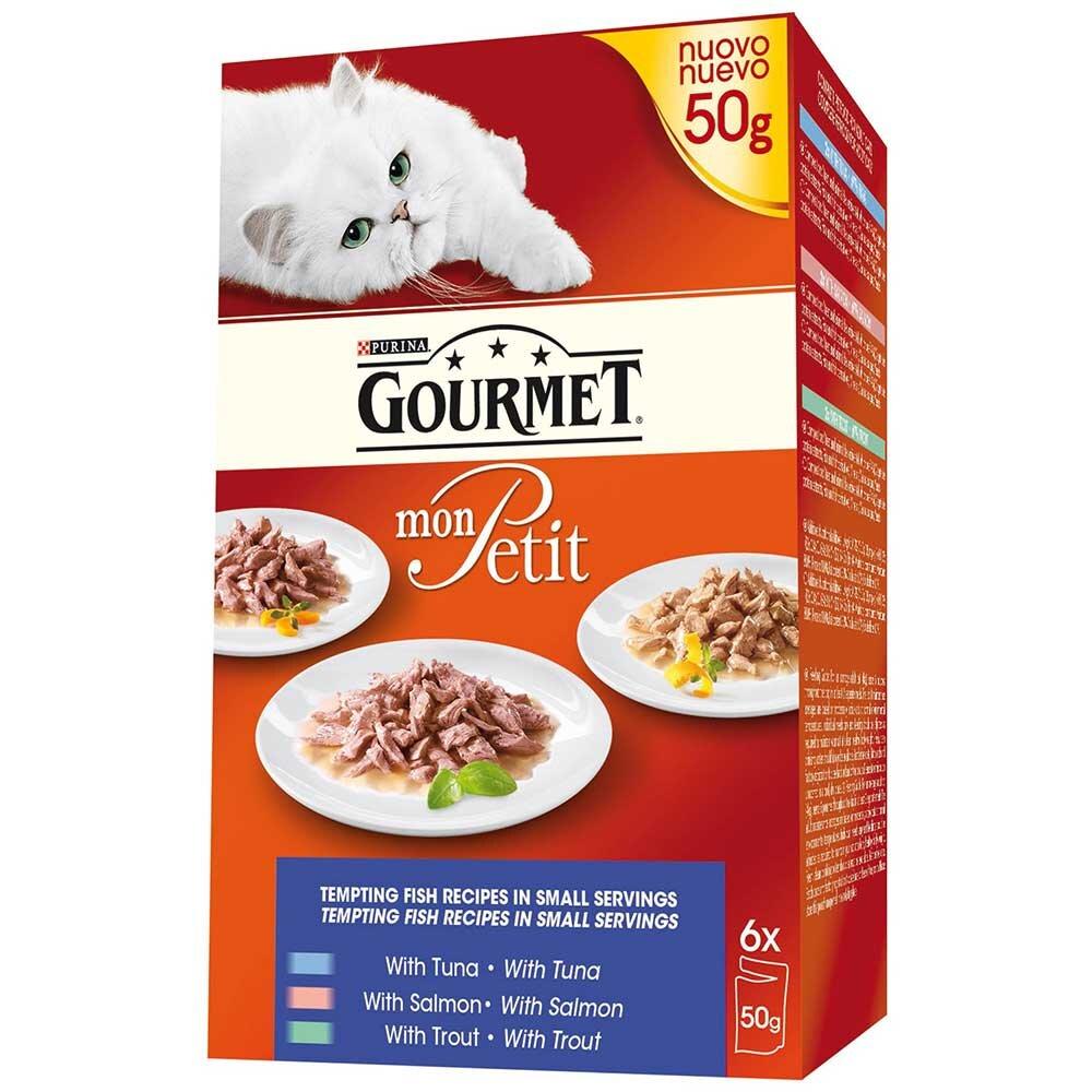 Gourmet Mon Petit Fish Selection 8 x 6 x 50g