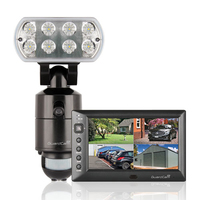 Guardcam LED Floodlight Recorder + Monitor
