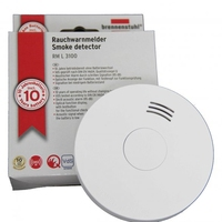 Brennenstuhl Long Life 10Year Lithium Battery Smoke Alarm