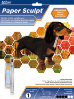 Paper Sculpt Dachshund Advanced. (Priced in singles, order in multiples of 3)