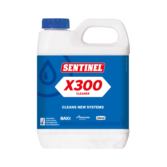 Sentinel X300 Cleaner For New Systems 1L