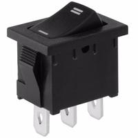 Switch | Rocker Switch Mini 3 Pins SPDT On-On 6A 125V