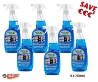 Windowlex Glass, Steel & Sanitiser 6x750ml sp