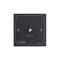 Cloud RL-1B | Remote Volume Level Control Plate in Black
