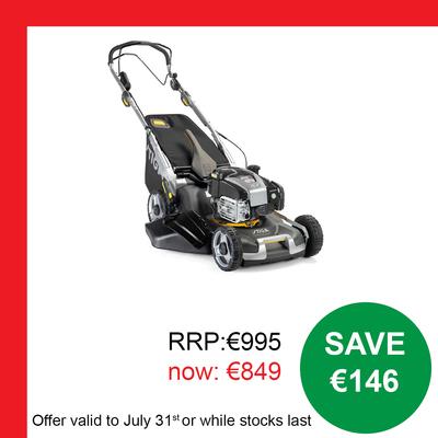 STIGA TWINCLIP 55 S V EQB Lawnmower