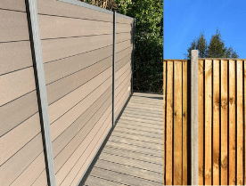 Why choose Composite fencing over wooden fencing?