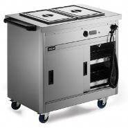 Lincat P6B2 Hot Cupboard Static with Bain Marie Top