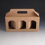 Jarbox 4. Box for 3 12oz Jars. (Pack of 10)