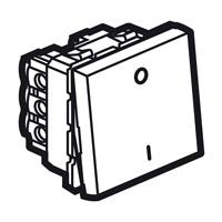 Arteor Double Pole 20Amp 1 Way 2 Module - White  | LV0501.2401