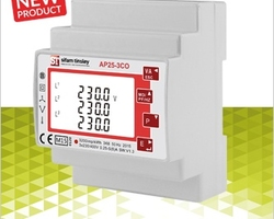 Sifam Tinsley have introduced a new modern design power monitor that will measure and display electrical power quality parameters for two 3 phase circuits. This does away with the need for two separate meters.