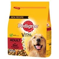 Pedigree Complete Adult - Beef & Veg 2.6kg