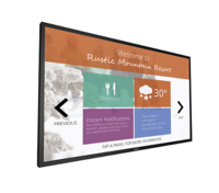 "Philips 75"" LED Signage Solutions Multi-Touch Display"