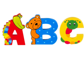 Orange Tree Animal Letters