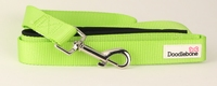 Doodlebone Bold Nylon Lead 20mm x 1.2m - Green x 1