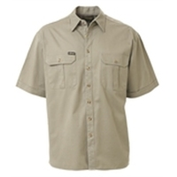 Bisley Cotton Drill Short Sleeve Shirt 190gsm