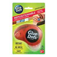 Glue Dots Dispenser Repositionable 125 dots