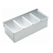 Garnish Dispenser S/S 4 Compartment