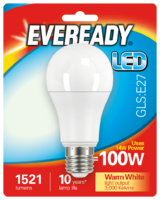 EVEREADY 14W (100W) E27 LED GLS 1521 LUMENS