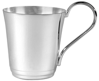 9cm Silver Plated Swatkins Child's Can | TC11