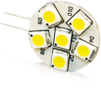 1W 10-30V G4 LED UNIDIRECTIONAL WW