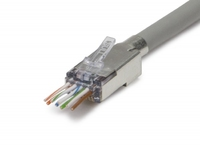 ezEX™44 Shielded  CAT6 Connector 25pck