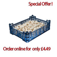 Fresh Cup Mushrooms 2.27kg (order online pay only £4.49)
