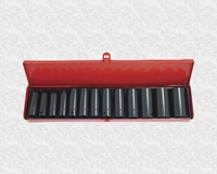 "NEILSEN 1/2"" Drive Deep Impact 14 Piece Socket Set  CT0694"