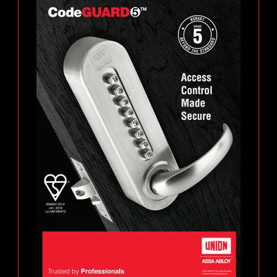 CODE GUARD 5 MECHANICAL LOCK, J8607CG5-SS